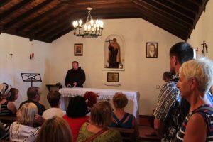 Kaple prvního kláštera v Duruelu - srpen 2015.