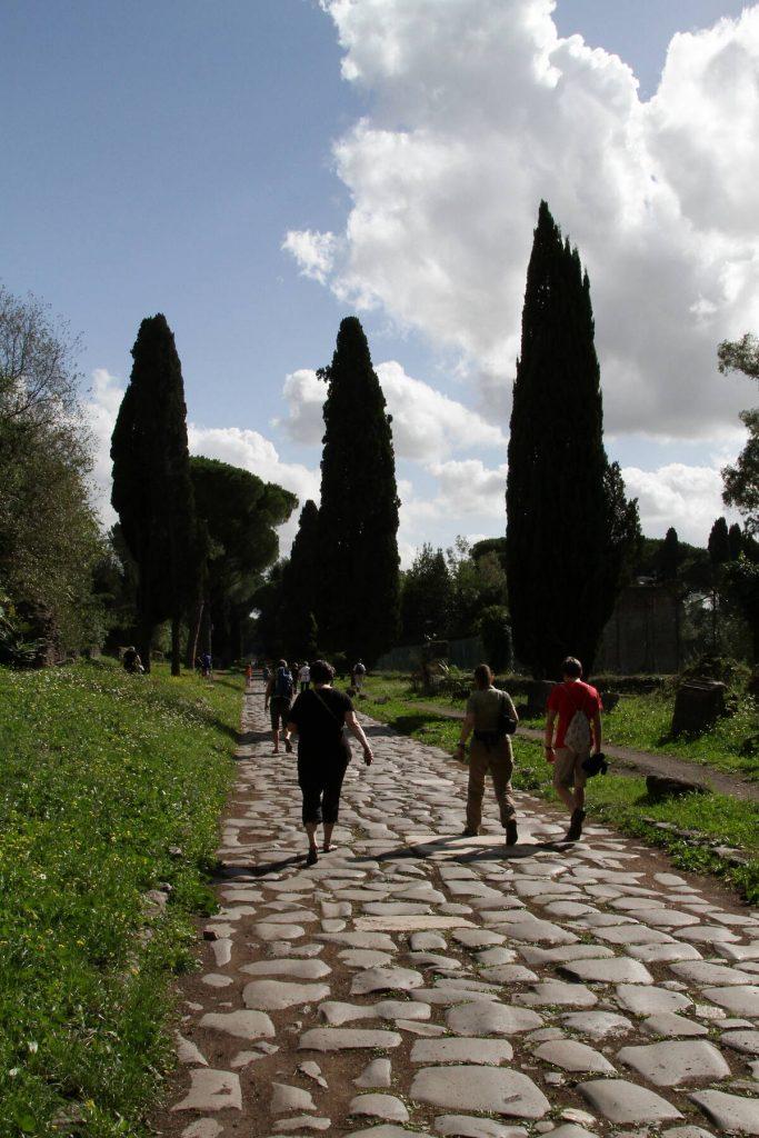 Putování po Via Appia.