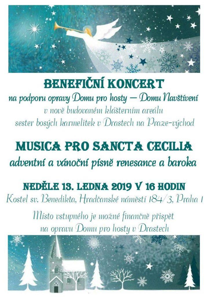 Benefiční koncert Musica pro Sancta Cecilia